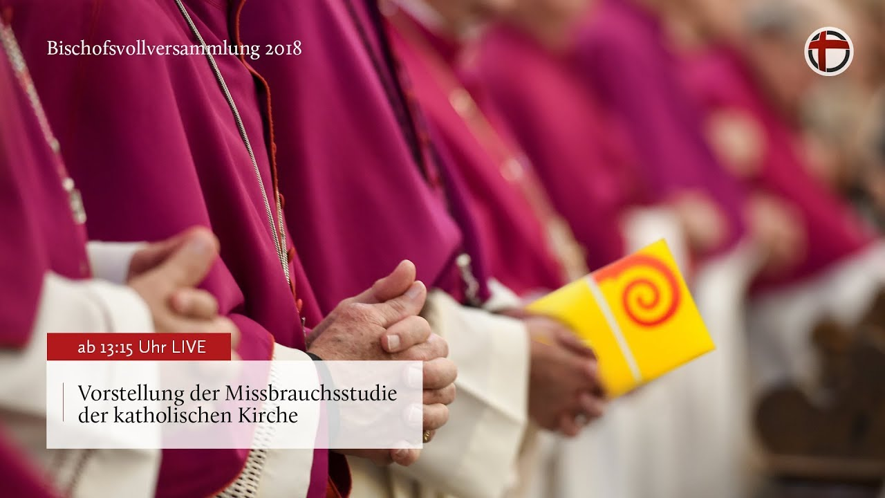 Vorstellung der Missbrauchsstudie der katholischen Kirche - Vollversammlung 2018