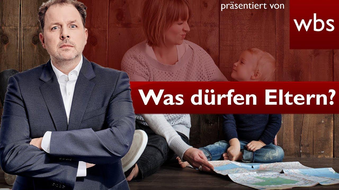 DEUTSCHLAND - -  15 Dinge die deine Eltern dürfen / nicht dürfen | Rechtsanwalt Christian Solmecke