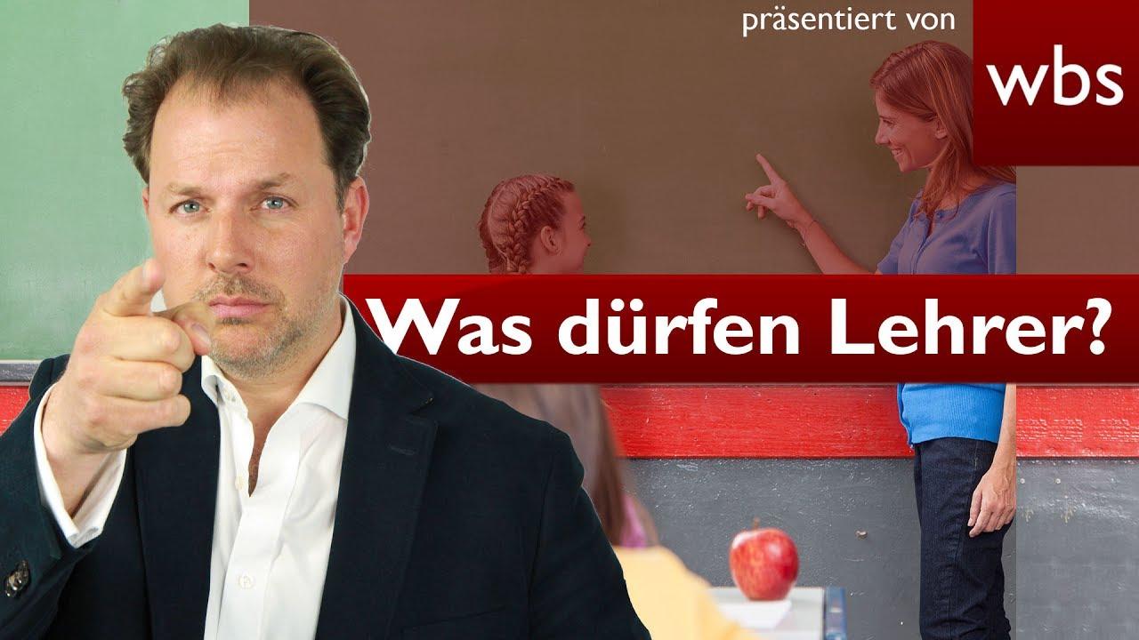 DEUTSCHLAND - - 20 Dinge, die Lehrer nicht dürfen (aber trotzdem machen)! | Rechtsanwalt Christian Solmecke