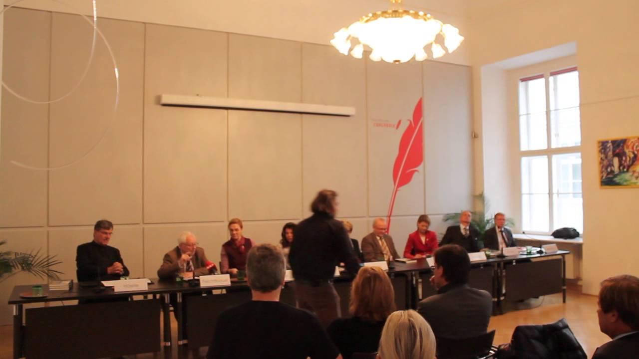 Klasnic Kommission - Buchpräsentation - Missbrauch und Gewalt - 19.11.2013