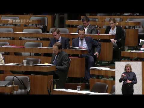 Nationalratssitzung - Franz Joseph Huainigg - ÖVP-26.04.2017