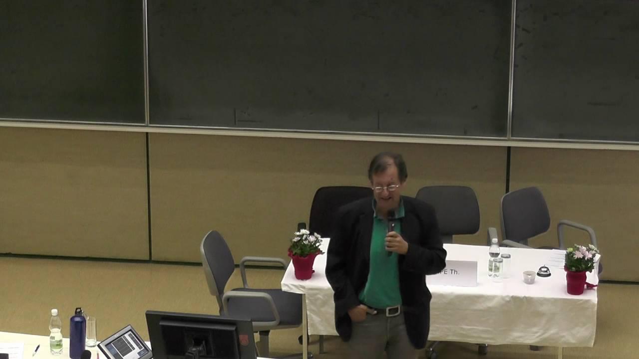 Univ.Prof.Dr. Thomas Stompe-Heimkinder damals und heute-24.09.2016