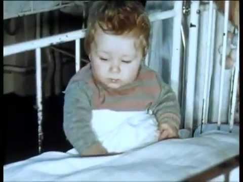 Film aus Kinder- und Säuglingsheimen in Zürich von Dr. Marie Meierhofer, Teil 2