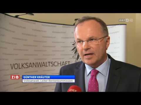 ORF - ZIB 1 Heimopfer Rente ab 1. Juli 2017,   26.06.2017